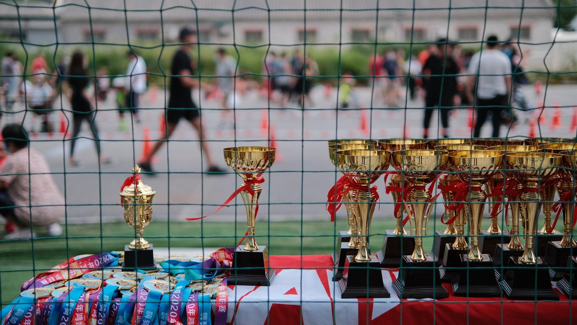 trophée compétition sport