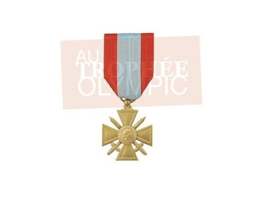 médaille CROIX DE GUERRE TOE