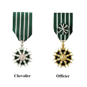 médaille arts et lettres