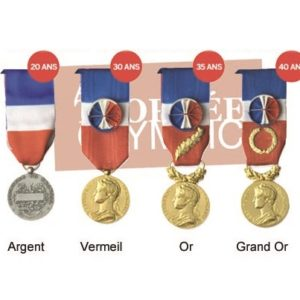 medaille honneur travail