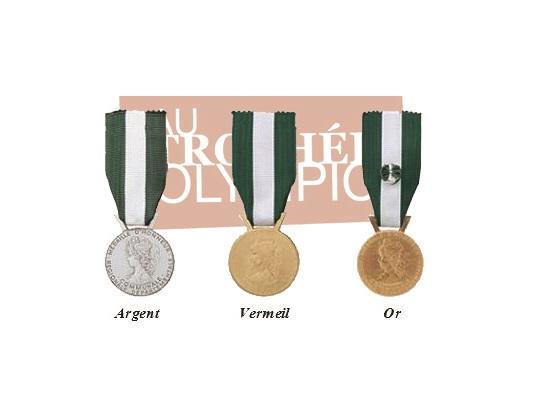 medaille regionale départementale communale